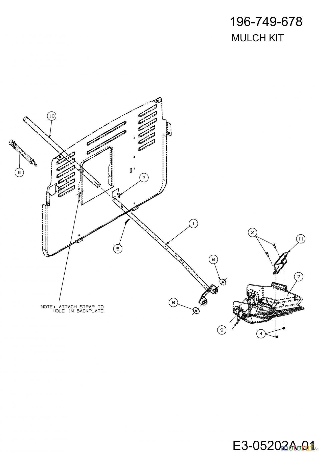 mtd accessoires acc ssoires tracteur de jardin et de. Black Bedroom Furniture Sets. Home Design Ideas
